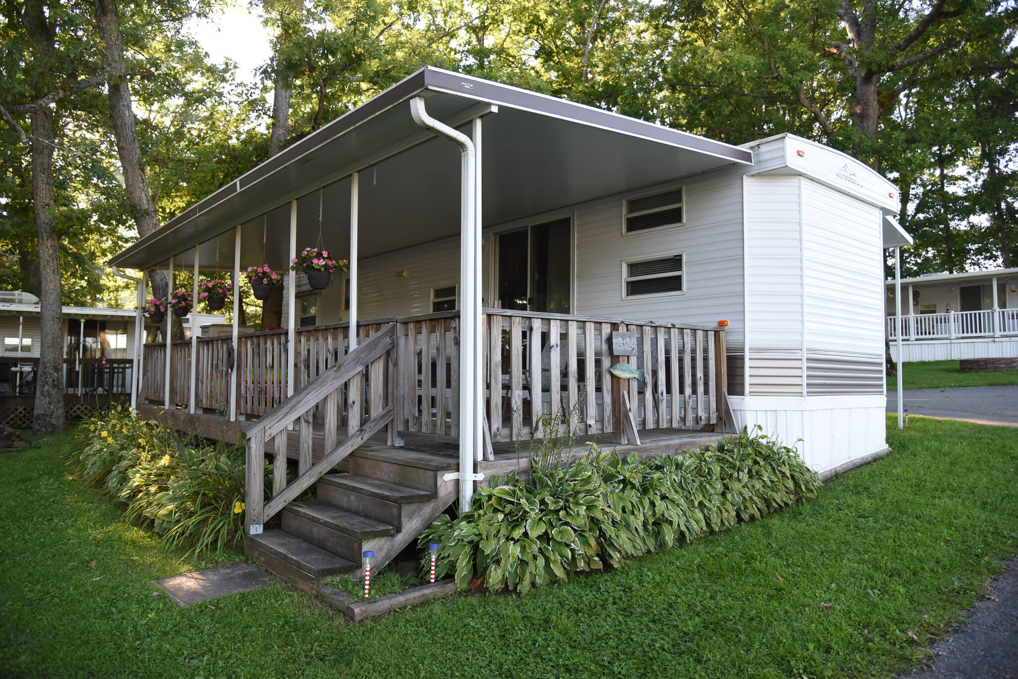 Silver-Top Hard Awnings & 3-Season Rooms - Double G RV Park