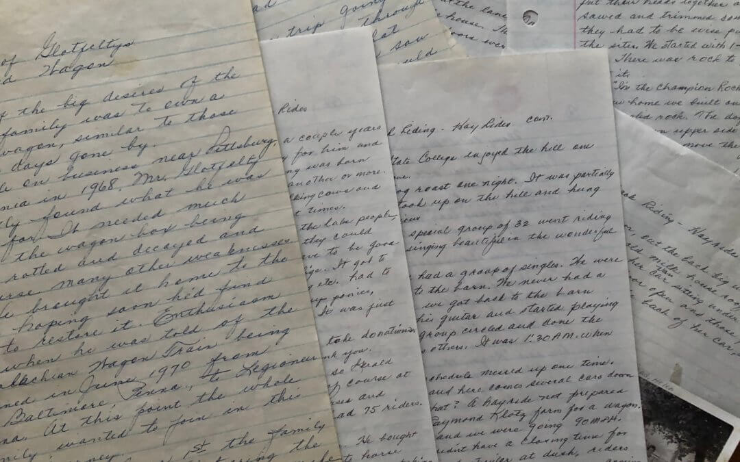 handwritten memories
