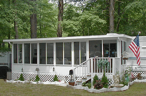 Silver-Top Hard Awnings & 3-Season Rooms